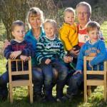 Kathrin, Henri und die Kinder